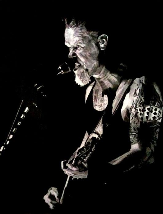 James Hetfield by docjohn